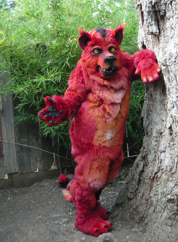 Hell Cat Fursuit By Lilleahwest On Deviantart