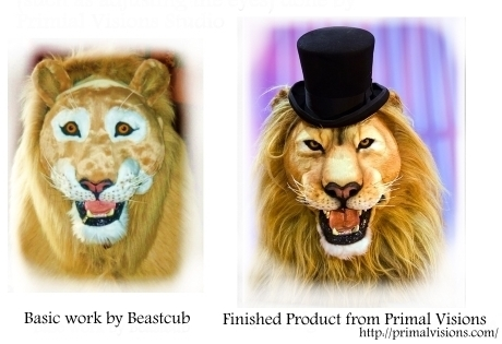 Lion Quad Collab Project by LilleahWest