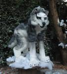 wolf husky costume