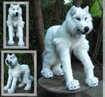 White wolf quadsuit