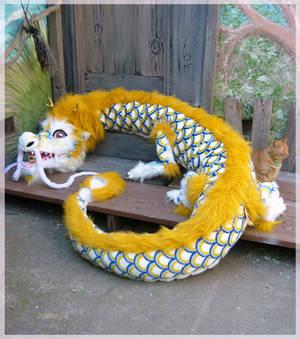 giant plush chinese dragon