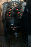 Hellhound closeup by LilleahWest