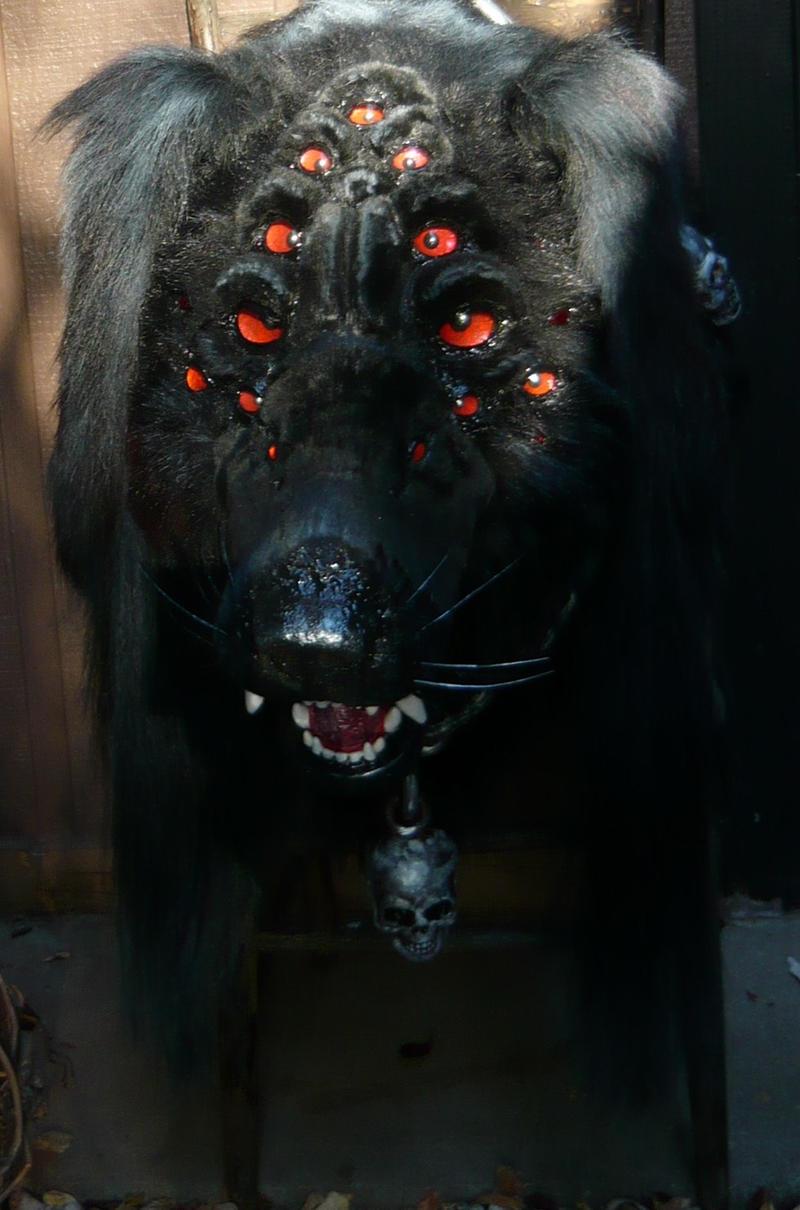 Hellhound In A Hot Dog Costume