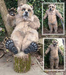 Grubbs grizzly feet