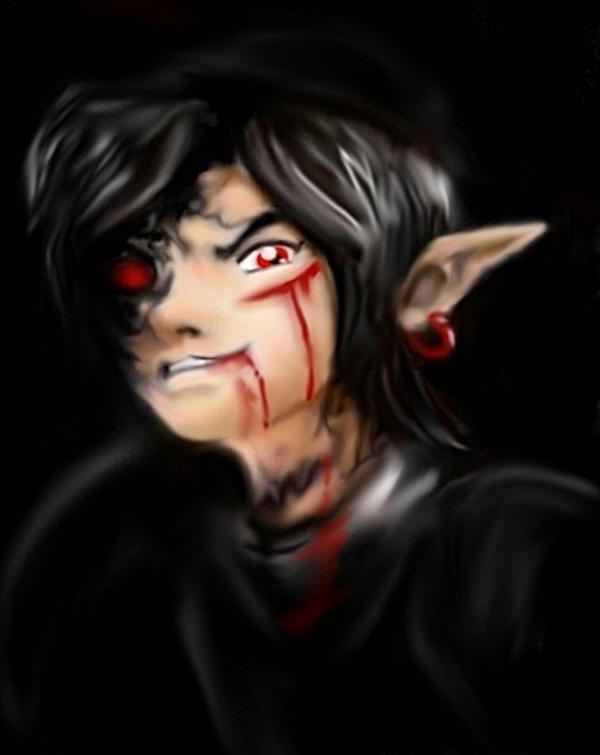 Dark link pain by lilleahwest on deviantart