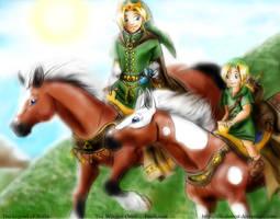 Zelda - WO - A new Hero by LilleahWest