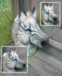 Zorse mask by LilleahWest