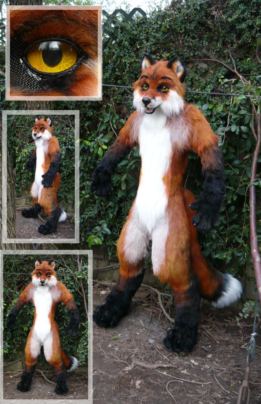 likely my last fox   how do you make those animal costumes fursuits