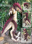 Raptor Fursuit