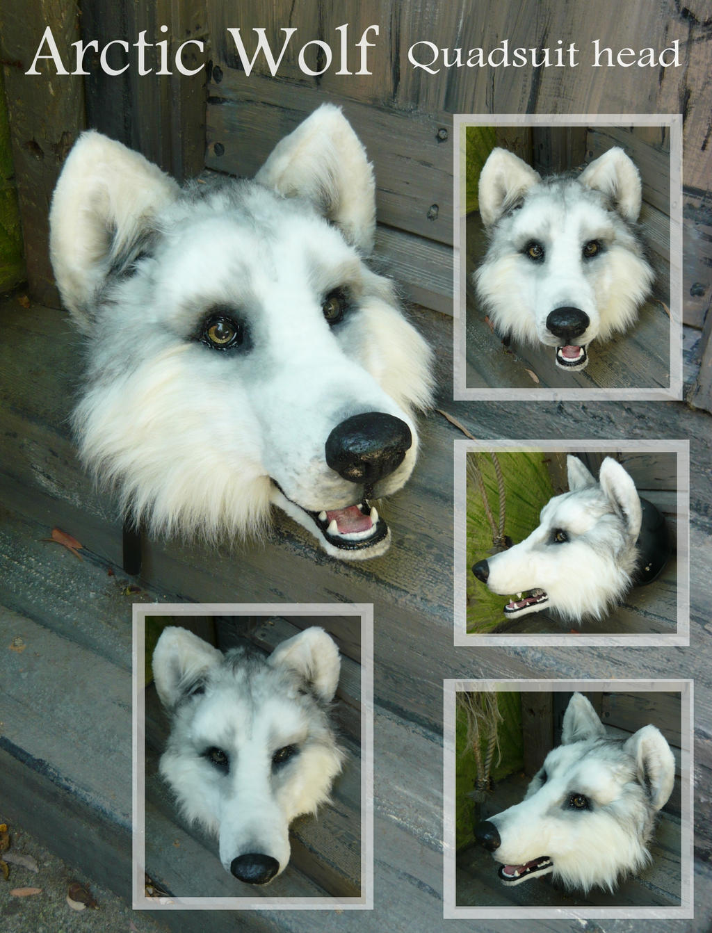 Arctic Wolf How Do You Make Those Animal Costumes