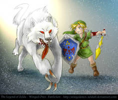 Chirin vs White Wolfos by LilleahWest