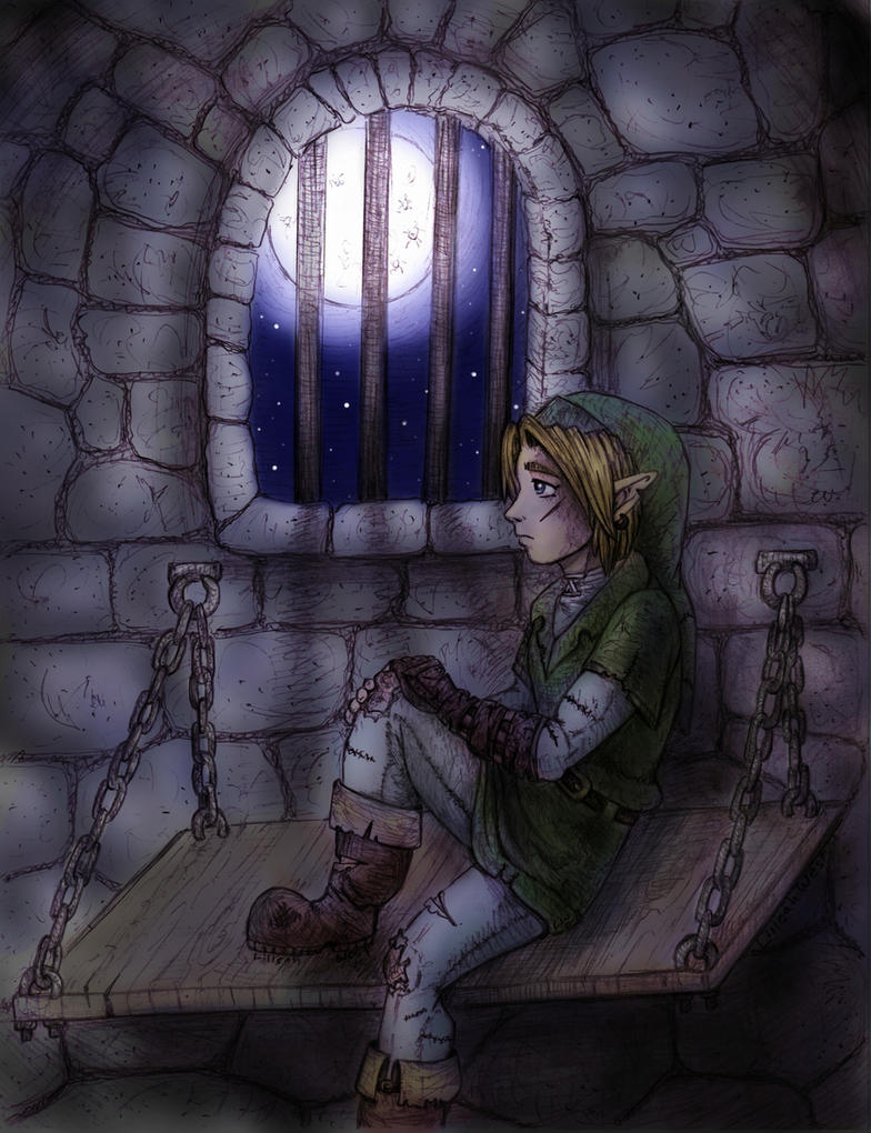 Night in the Gerudo Fortress by LilleahWest