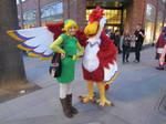 Zelda: Skyward Sword - Crimson Loftwing Cosplay