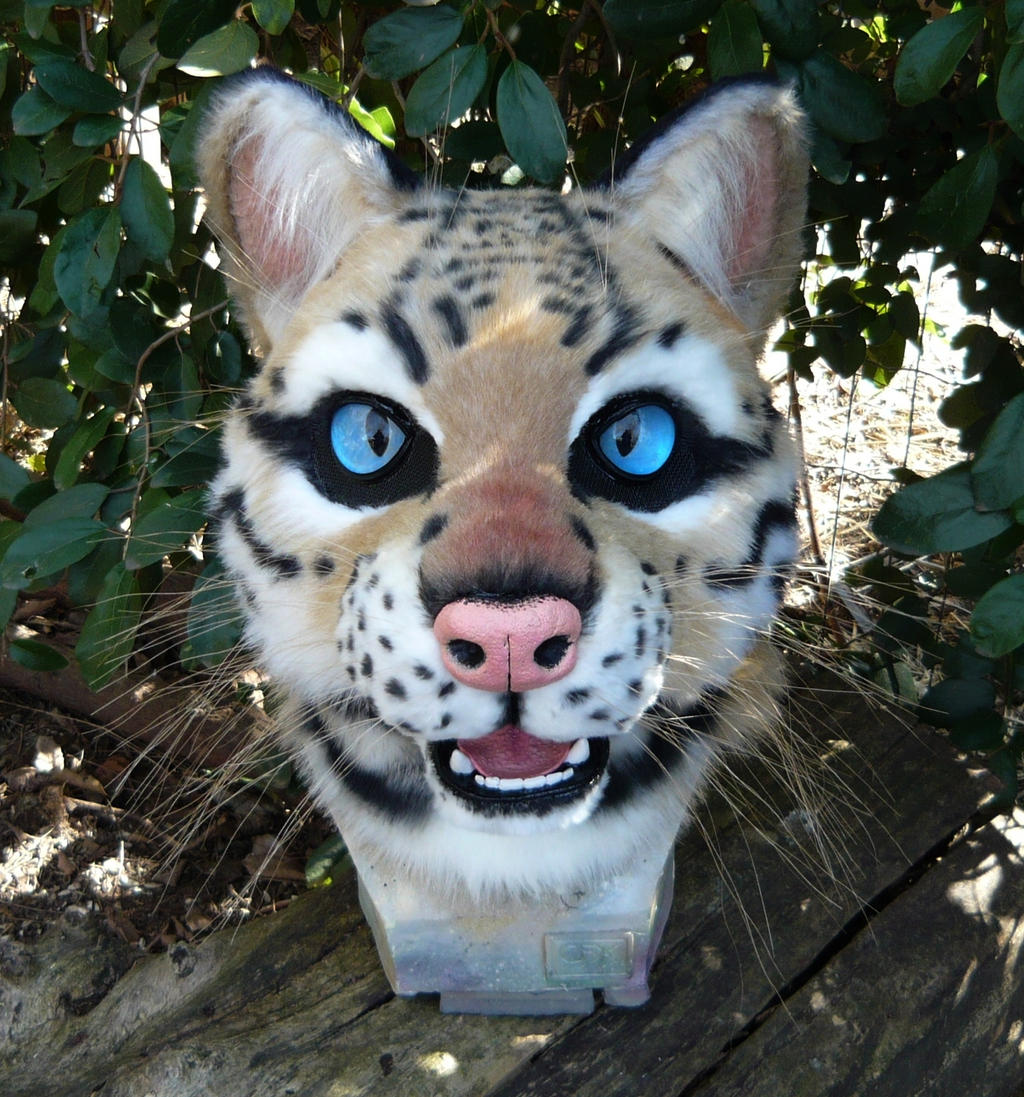 Ocelot Mask by LilleahWest