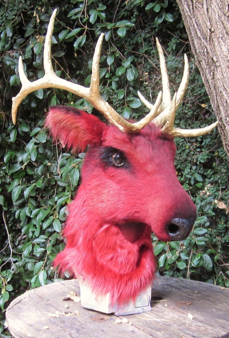 Red Elk by LilleahWest on DeviantArt