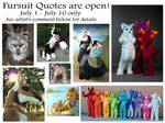 Want a Fursuit from Beastcub?