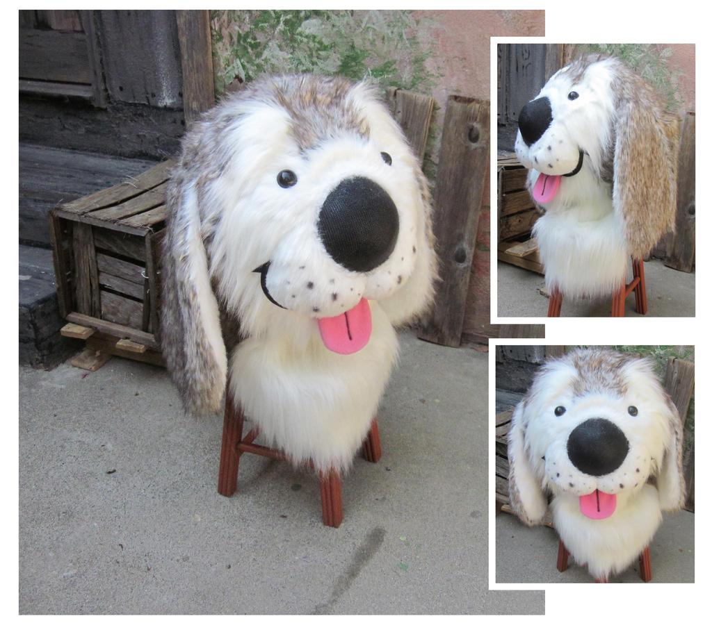 cutesy cartoony puppy by LilleahWest