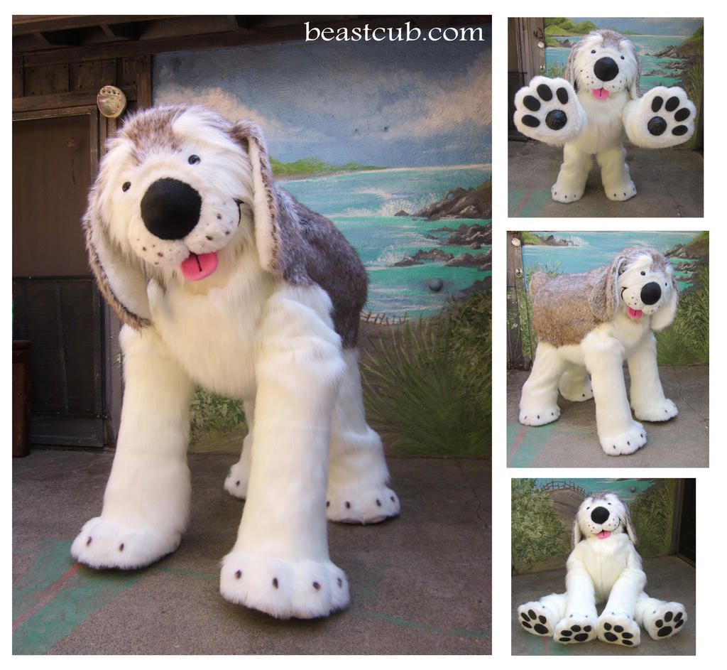 Giant Cute Cartoony Puppy by LilleahWest