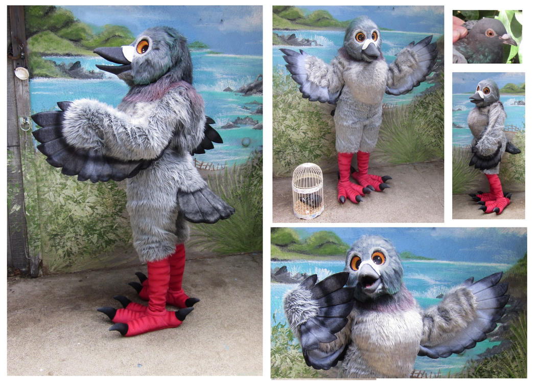 Pigeon Fullsuit by LilleahWest