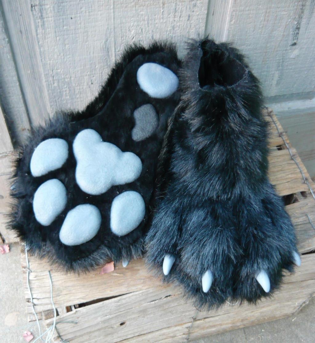 Pawpad feet
