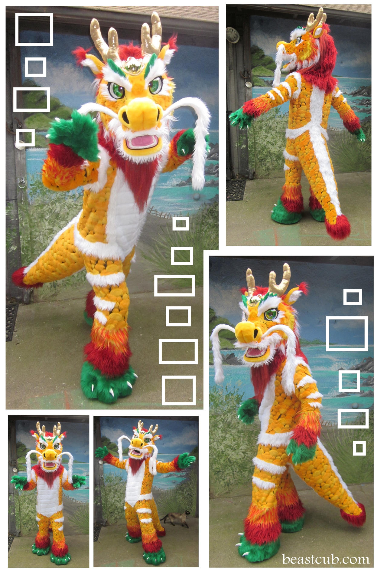 Chinese Dragon How Do You Make Those Animal Costumes