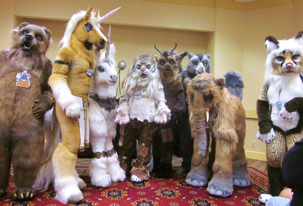 Califur Beastcub Gathering by LilleahWest