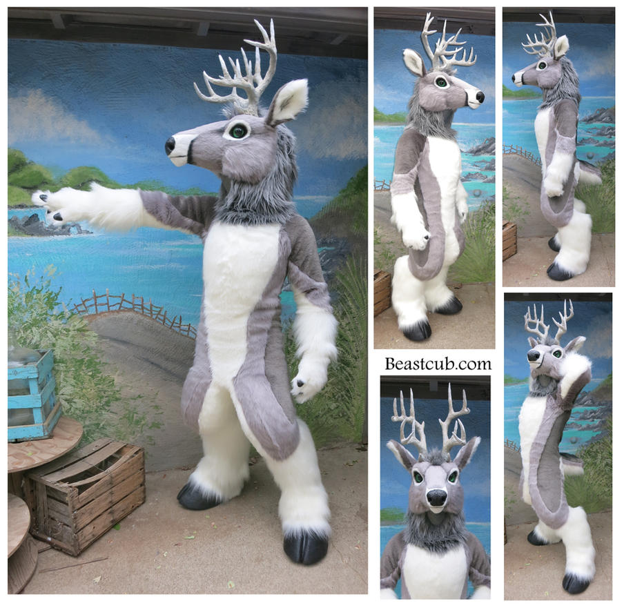 Gray Deer by LilleahWest