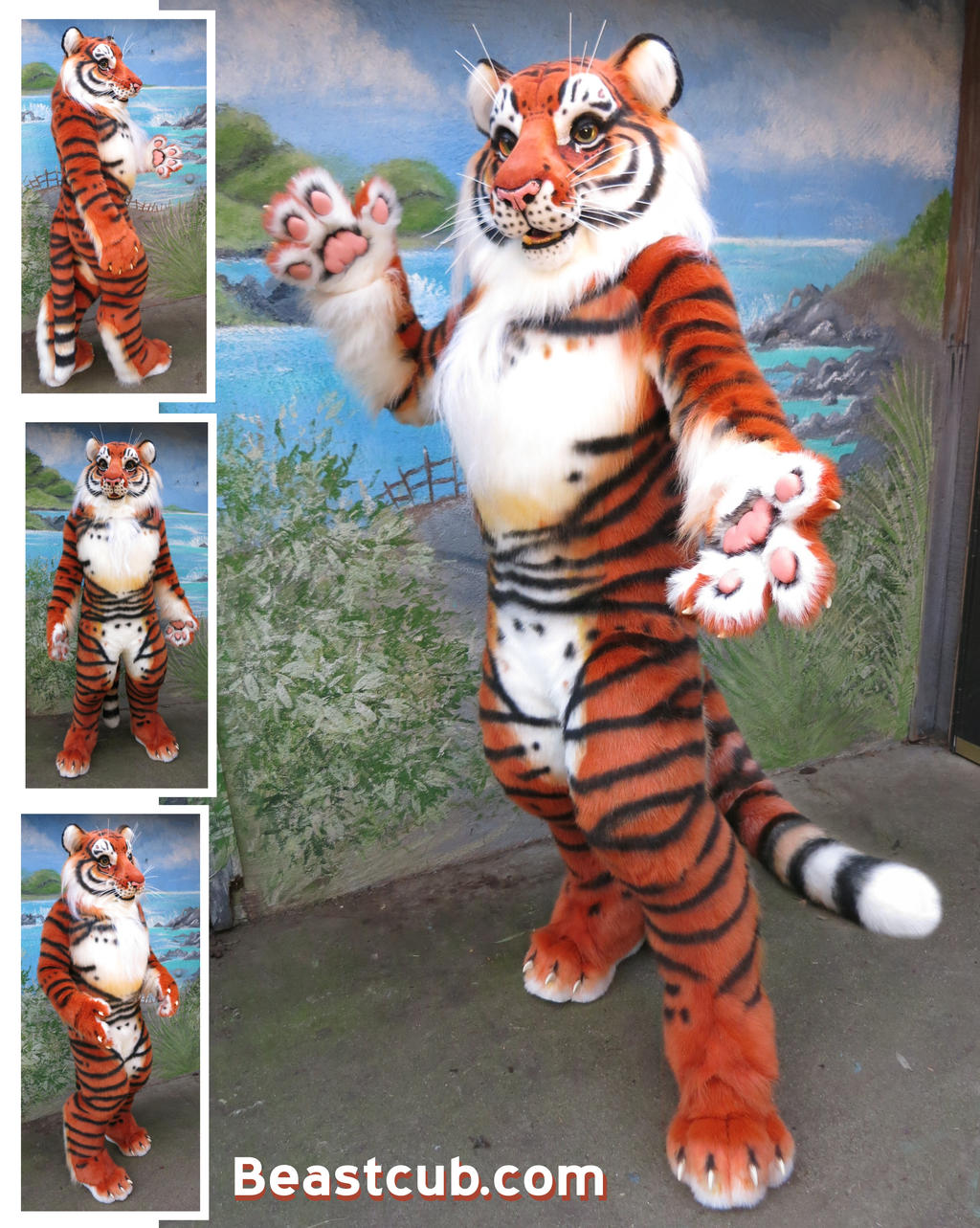 Bengal Tiger by LilleahWest on DeviantArt - photo#28