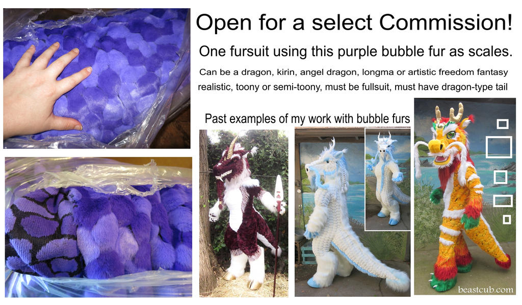 Custom purple scaled suit up for commission by LilleahWest
