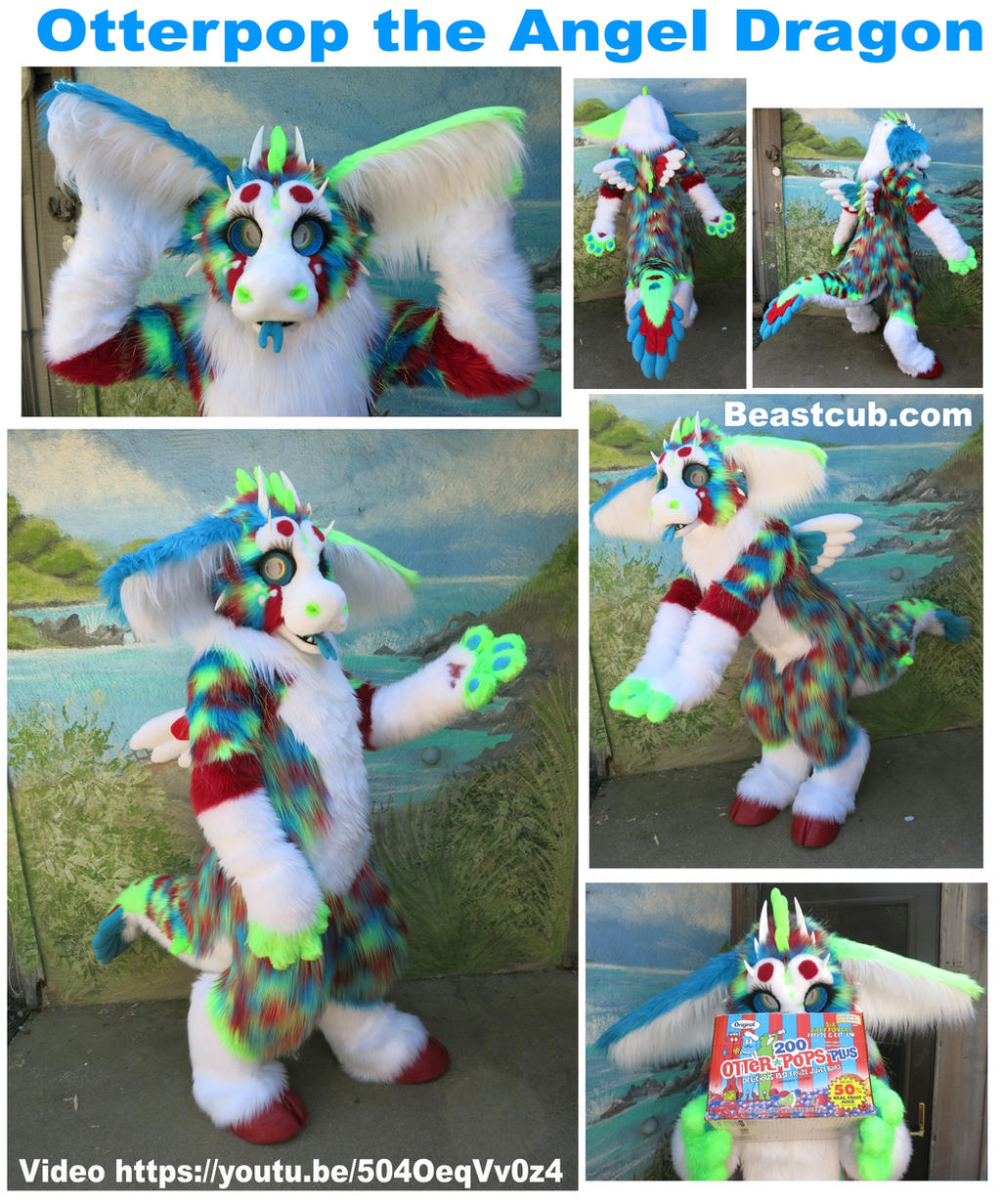 Otterpop The Angel Dragon  Video By Lilleahwest