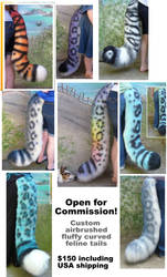 Open For Feline Tail Commissions by LilleahWest