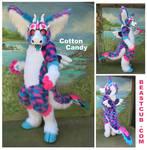 Cotton Candy Dutch Angel Dragon