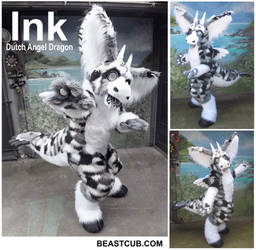 Ink the Dutch Angel Dragon by LilleahWest