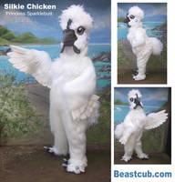 Silkie Chicken by LilleahWest
