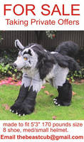Mightyena Quadsuit FOR SALE