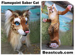 Flamepoint Saber Cat - new hairdo