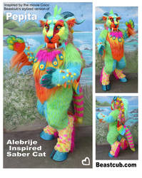Pepita Inspired Costume by LilleahWest