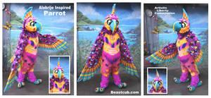 Alebrije Theme Parrot