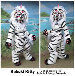 Kabuki Kitty - soon to be for sale