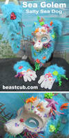 Salty Sea Dog - Golem SOLD by LilleahWest