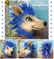 Azure Hedgehog by LilleahWest
