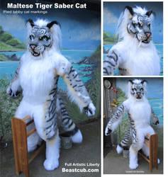 Maltese Tiger Saber by LilleahWest