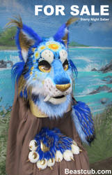 Starry Night Saber FOR SALE by LilleahWest