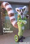 Kiwi Lemur by LilleahWest