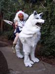 Princess Mononoke and Wolf