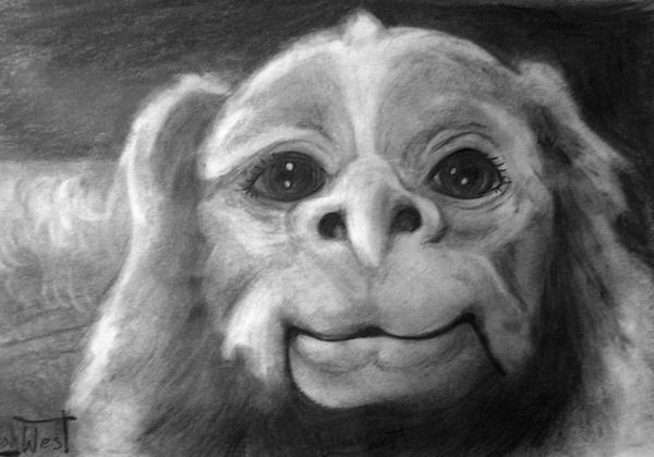 falcor the luck dragon coloring pages | Falcor by LilleahWest on DeviantArt