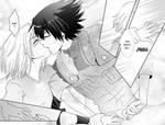 SasuSaku Doujinshi: Happy Valentine Page 7+8