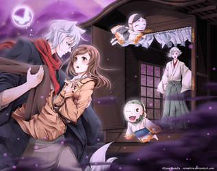 Kamisama Kiss: The Secret of the Night Fog by Ali-EderMandia