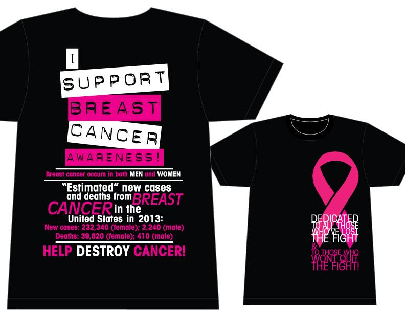 Breast Cancer Walk Tank And T Shirts Jeri Stunkard 1000