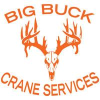 Big Buck Crane Services Logo Design by louVVis